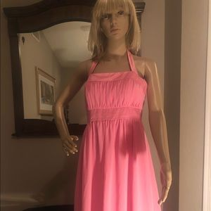 Ladies pink dress by After Six.